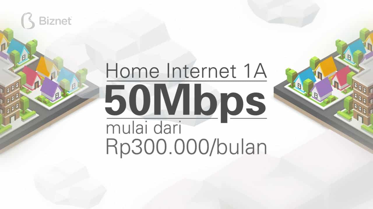 Biznet Home Internet 1A