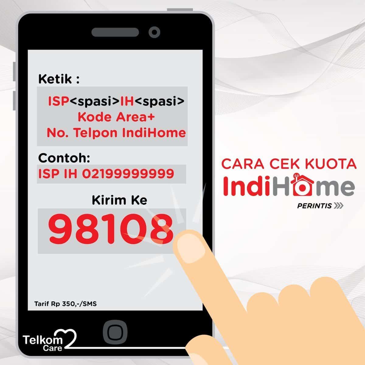 Cek Kuota Indihome Lewat SMS