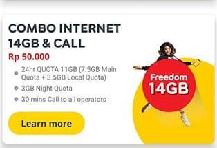 Paket New Freedom Indosat
