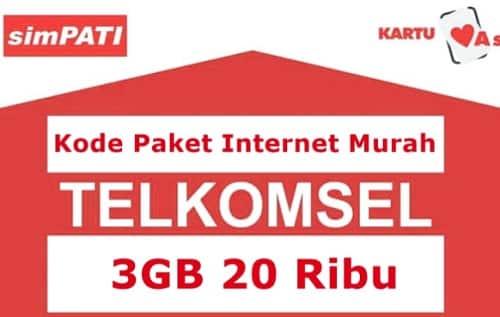 Paket Telkomsel 20 Ribu