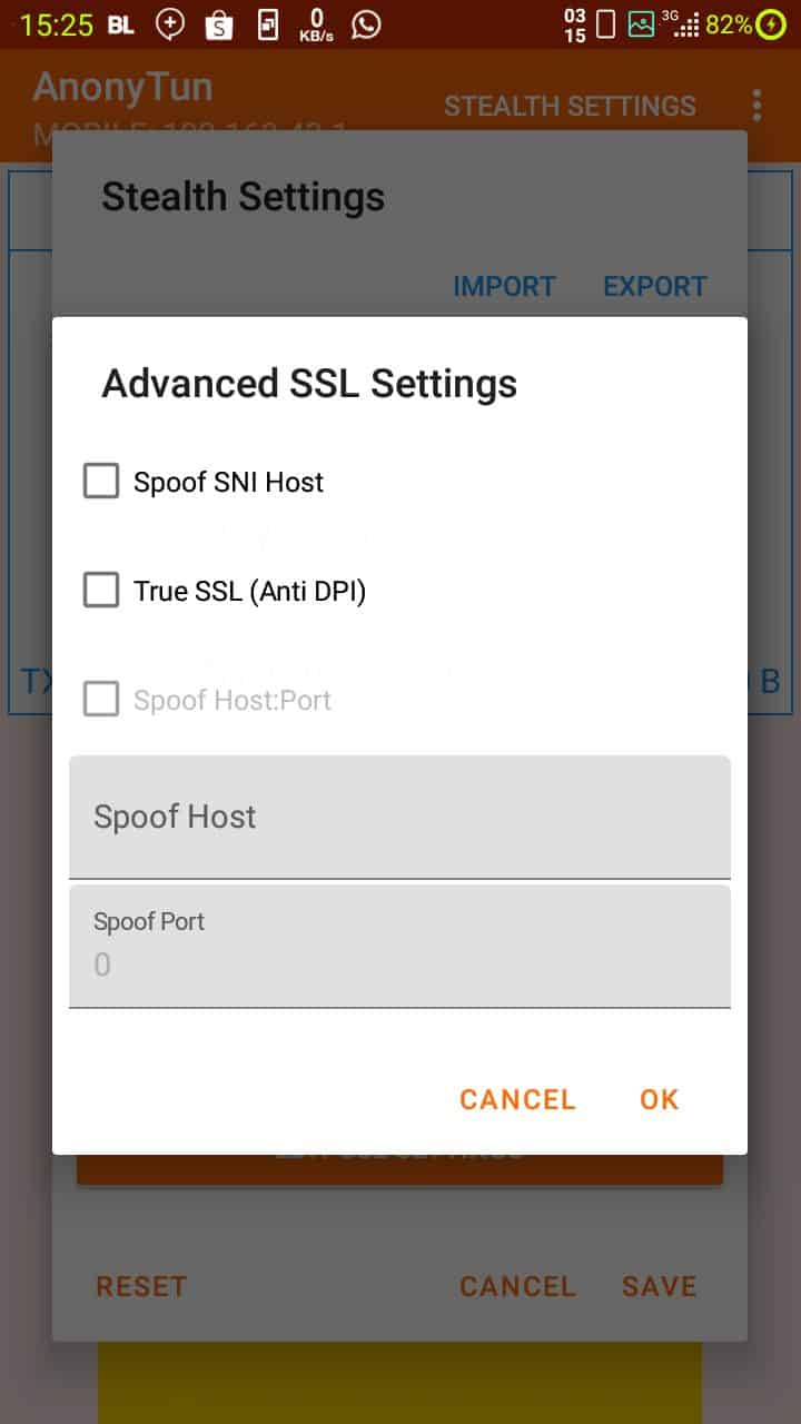 SSL Setting