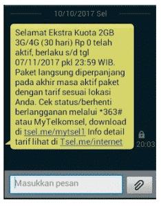 Telkomsel-2GBa
