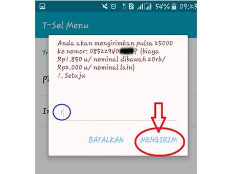 Transfer-Pulsa-Telkomsel-Lewat-T-Sel-Menu