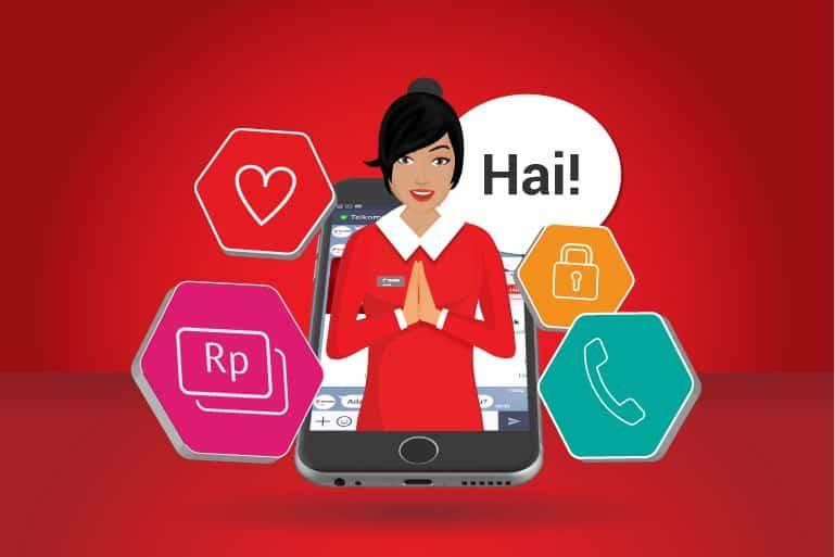 assistan virtual telkomsel
