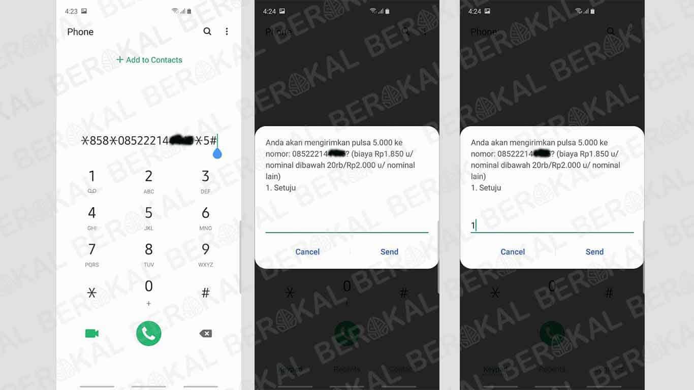 3 Cara Transfer Pulsa Telkomsel Simpati Kartu As Loop