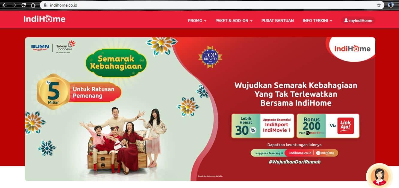 website indihome