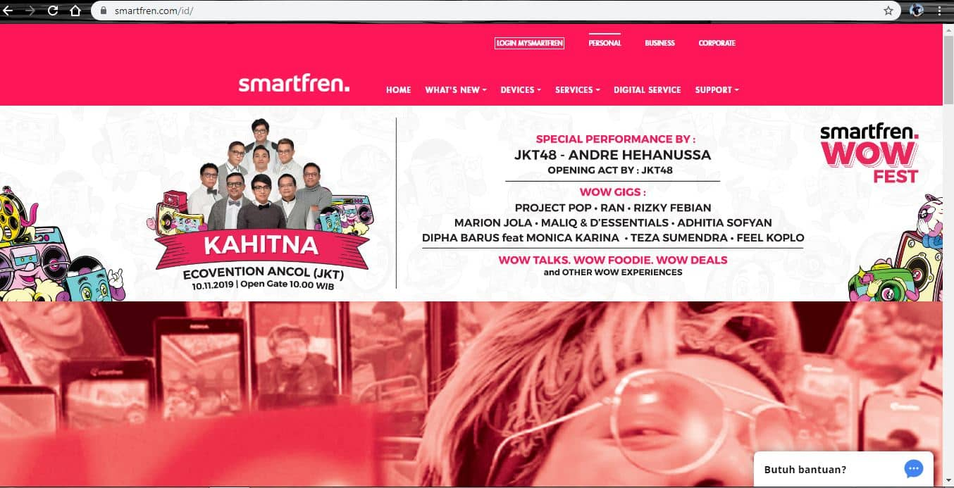 website smartfren