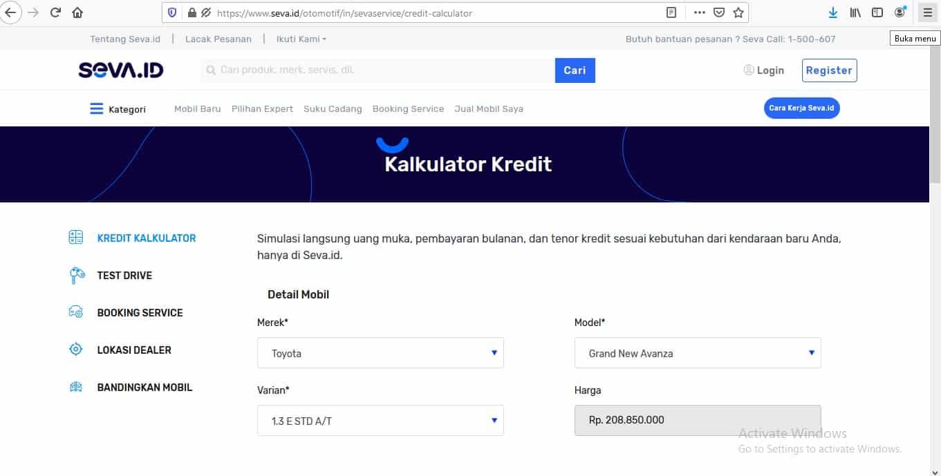 Perhitungan-Otomatis-Kredit