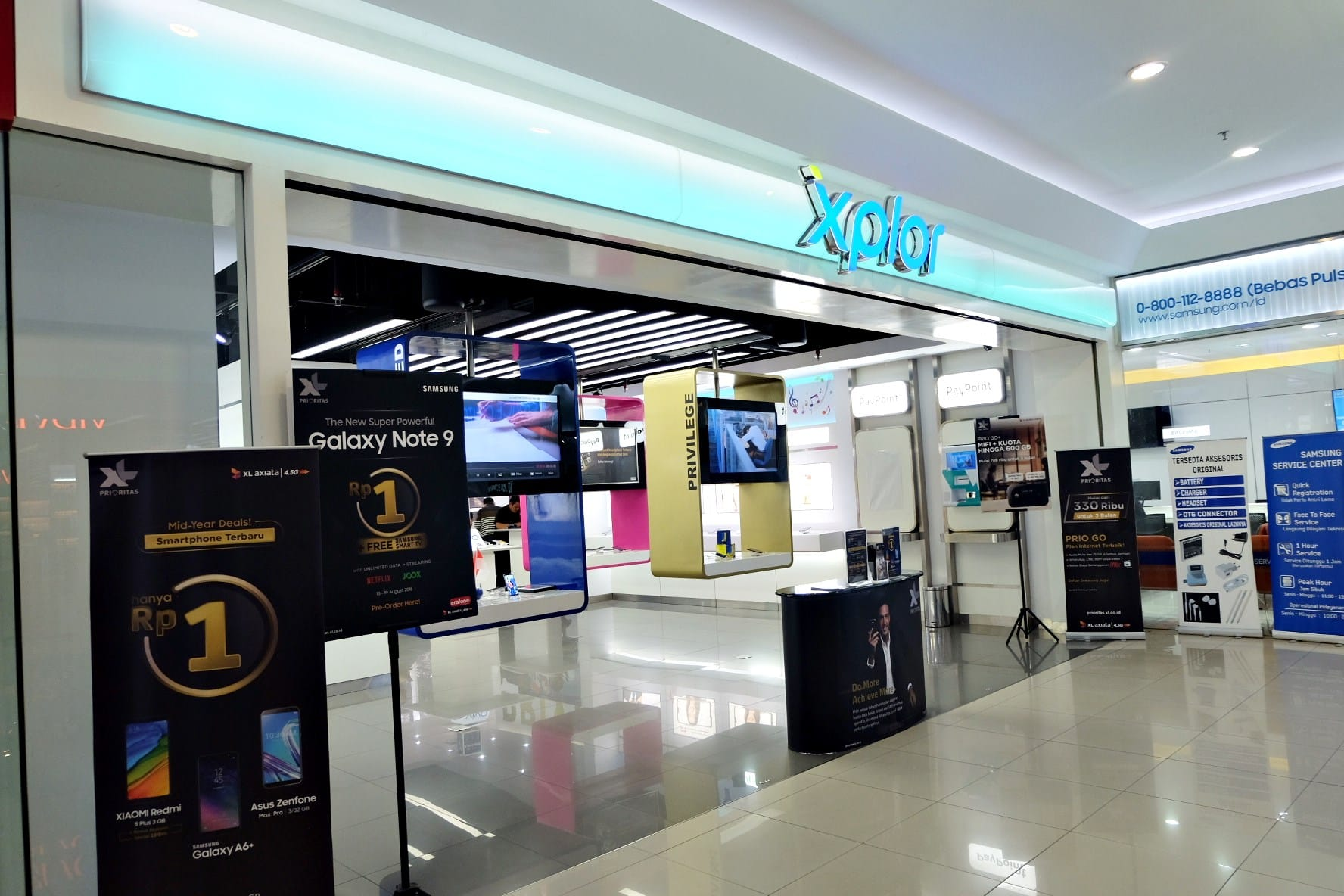 Alamat-Gerai-XL-Center-di-Bali