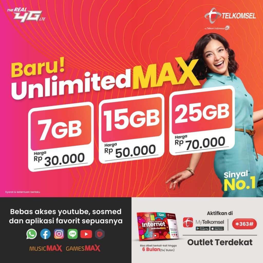 Harga-Paket-Telkomsel-Unlimited