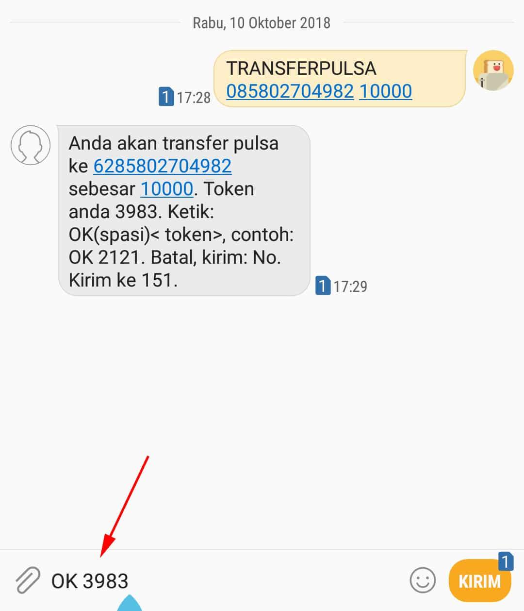 Ketikkan-format-SMS-Transferpulsa-spasi-nomor-spasi-nominal