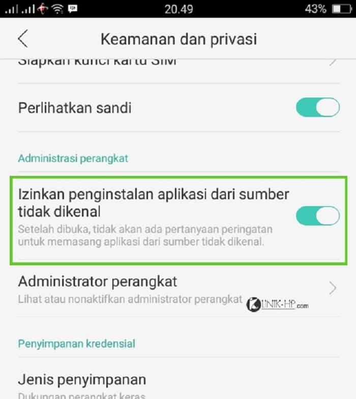 Setelah-mengunduh-aplikasi-ini-di-sistem-Android-maka-Anda-harus-mencentang-tanda