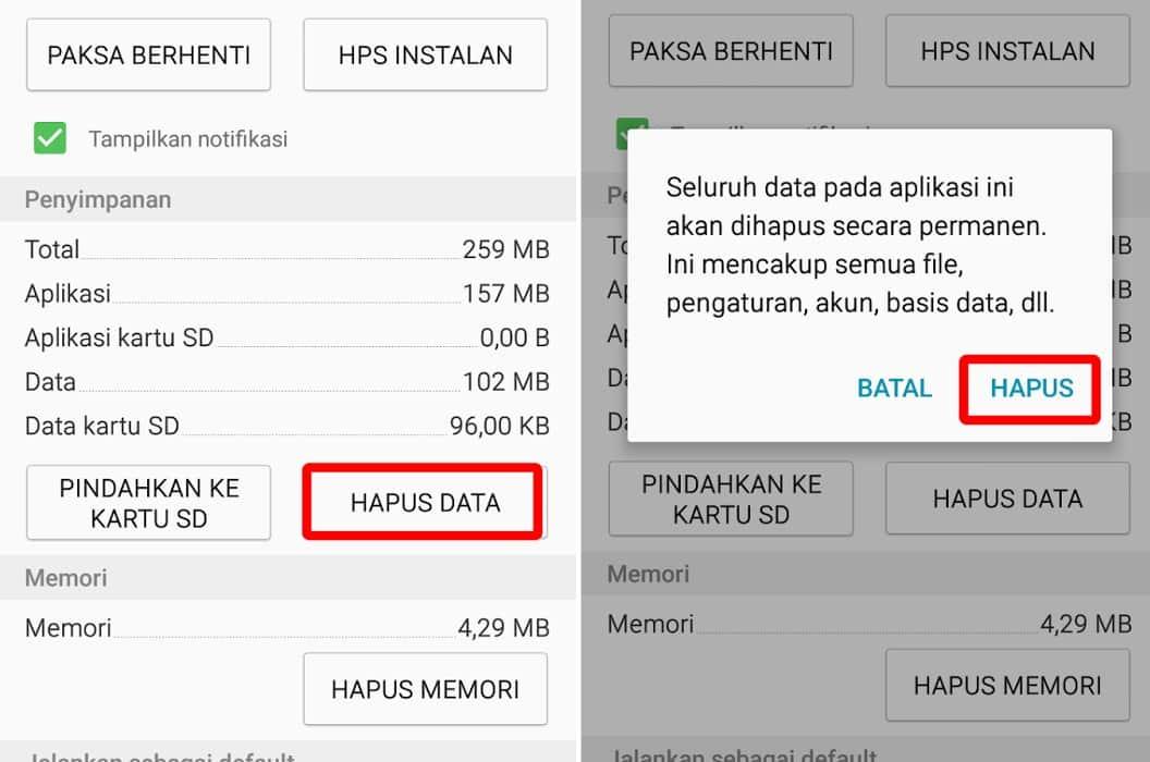 Hapus-Data-Aplikasi